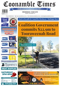 online magazine - Coonamble Times May 15,2019