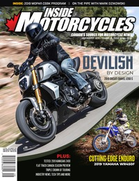 online magazine - Inside Motorcycles • Vol. 22, Iss. 03/04 • July/August 2019
