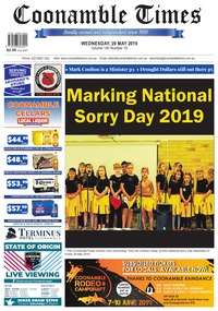online magazine - Coonamble Times May 29, 2019