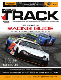 online magazine - Cdn. Racing Guide • Vol. 23, Iss. 04 • July Special 2019