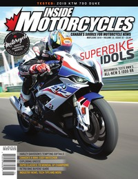 online magazine - Inside Motorcycles – Vol. 22, Iss. 02 – May/June 2019