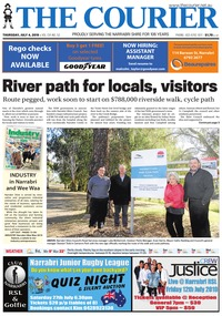 online magazine - The Courier, July 4, 2019