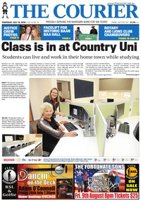 online magazine - The Courier, July 18, 2019