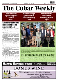 online magazine - The Cobar Weekly July 24, 2019