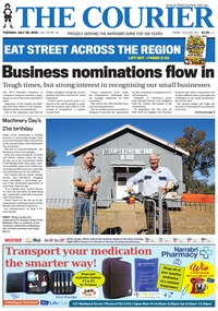 online magazine - The Courier and Wee Waa News, July 30, 2019