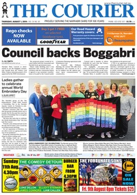 online magazine - The Courier, August 1, 2019