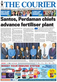 online magazine - The Courier and Wee Waa News, August 6, 2019