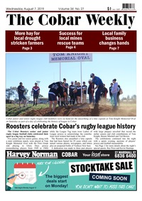 online magazine - The Cobar Weekly August 7