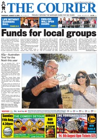 online magazine - The Courier, August 8, 2019