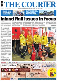 online magazine - The Courier and Wee Waa News, August 13, 2019