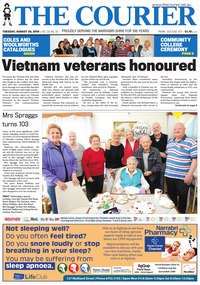 online magazine - The Courier and Wee Waa News, August 20, 2019