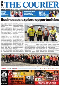 online magazine - The Courier, August 22, 2019