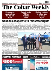 online magazine - The Cobar Weekly August 28, 2019