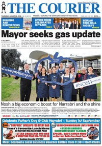 online magazine - The Courier, August 29, 2019