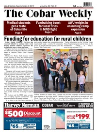 online magazine - The Cobar Weekly September 4, 2019