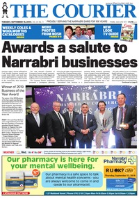 online magazine - The Courier and Wee Waa News, September 10, 2019