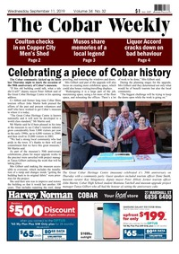online magazine - The Cobar Weekly September 11, 2019