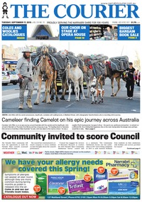 online magazine - The Courier and Wee Waa News, September 17, 2019