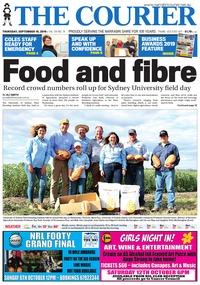 online magazine - The Courier, September 19, 2019