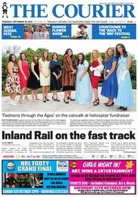 online magazine - The Courier, September 27, 2019
