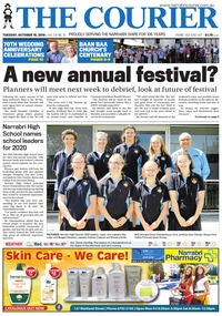 online magazine - The Courier and Wee Waa News, October 15, 2019