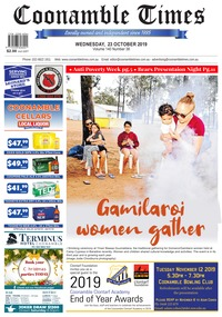 online magazine - Coonamble Times October 23 2019