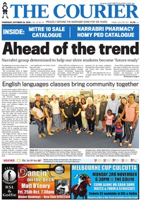 online magazine - The Courier, October 24, 2019