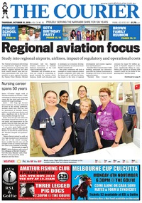 online magazine - The Courier, October 31, 2019