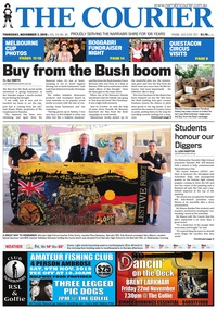 online magazine - The Courier, November 7, 2019