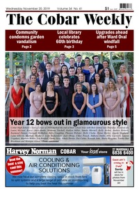 online magazine - The Cobar Weekly November 20, 2019