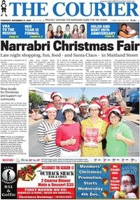 online magazine - The Courier, November 21, 2019