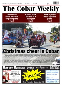 online magazine - The Cobar Weekly December 11, 2019