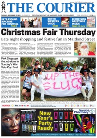 online magazine - The Courier and Wee Waa News, December 17, 2019