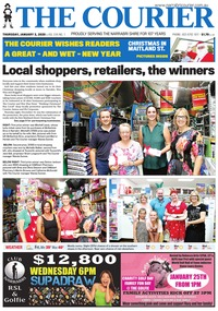 online magazine - The Courier, January 2, 2020