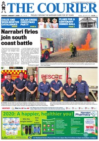 online magazine - The Courier and Wee Waa News, January 7, 2020