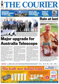 online magazine - The Courier and Wee Waa News, January 21, 2020
