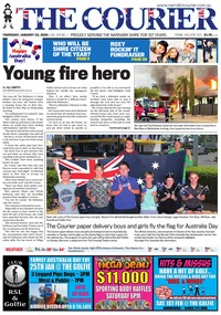 online magazine - The Courier, January 23, 2020