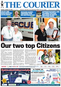 online magazine - The Courier and Wee Waa News, January 28, 2020