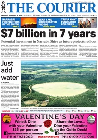 online magazine - The Courier, February 13, 2020