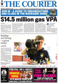online magazine - The Courier, February 27, 2020