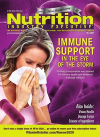 online magazine - Nutrition Industry Executive May 2020
