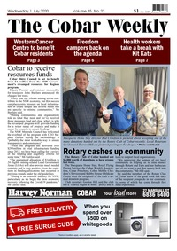 online magazine - The Cobar Weekly July 1, 2020