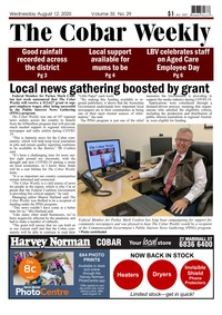 online magazine - The Cobar Weekly